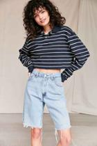 Urban Outfitters Urban Renewal Recycled Levi's Low-rise Slouchy Bermuda Short,indigo,m