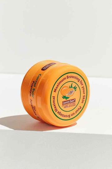 Urban Outfitters Carrot Sun Tan Accelerator Cream,papaya,one Size
