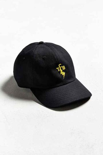 Urban Outfitters Pleasures Lightning Bolt Hat,black,one Size