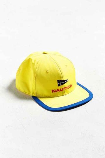 Urban Outfitters Nautica Baseball Hat,yellow,one Size