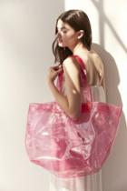 Urban Outfitters Shania Glitter Tote Bag