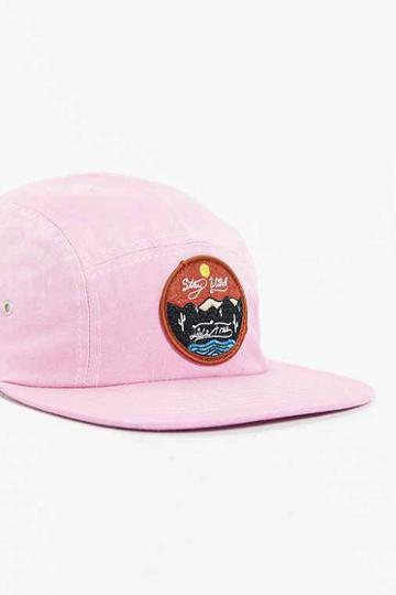 Urban Outfitters Altru Stay Wild 5-panel Baseball Hat,pink,one Size