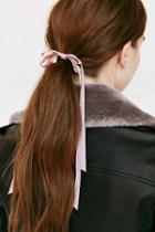 Urban Outfitters Victorian Slim Hair Bow,pink,one Size