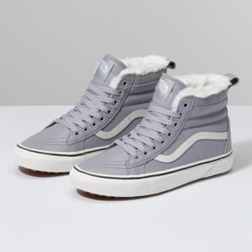 Vans Sk8-hi Mte (leather/lilac Gray)