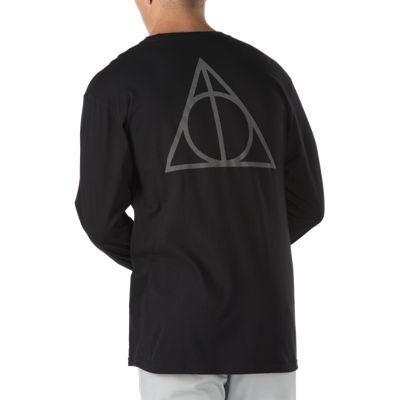 Vans X Harry Potter™ Long Sleeve T-shirt (deathly Hallows/black)