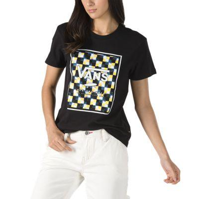 Vans Boxed In Check Tee (black)