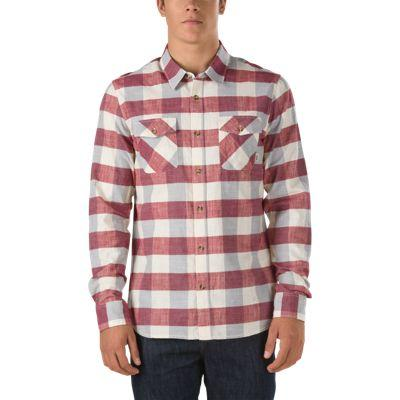 Vans Radden Buttondown Shirt (rhubarb)