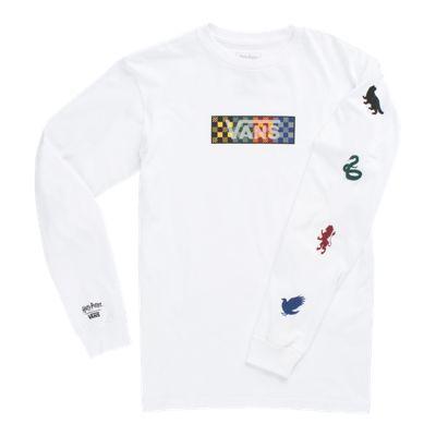 Vans Boys Vans X Harry Potter™ Long Sleeve T-shirt (four Houses/white)