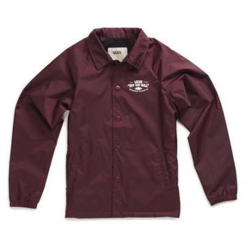 Vans Boys Torrey Coaches Jacket (port Royale)