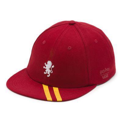 Vans X Harry Potter™ Mens Vintage Unstructured Hat (gryffindor/biking Red)