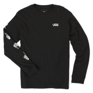 Vans Boys Boneyard Long Sleeve T-shirt (black)