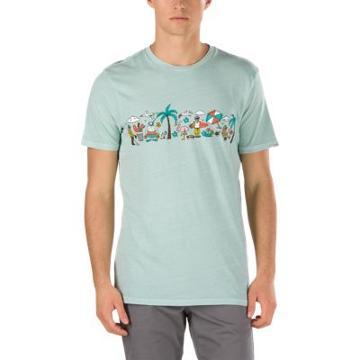 Vans Party Train T-shirt (split Green)