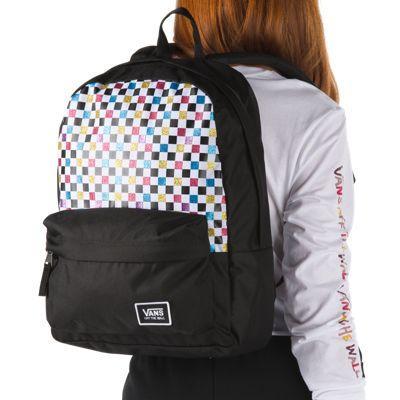Vans Realm Backpack (glitter Check)