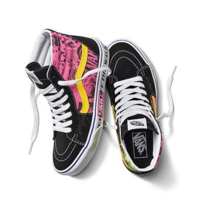 Vans Lady Vans Sk8-hi (azalea Pink/true White)