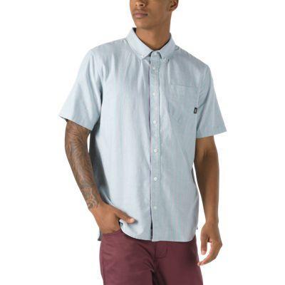 Vans Houser Buttondown Shirt (oil Blue Stripe)