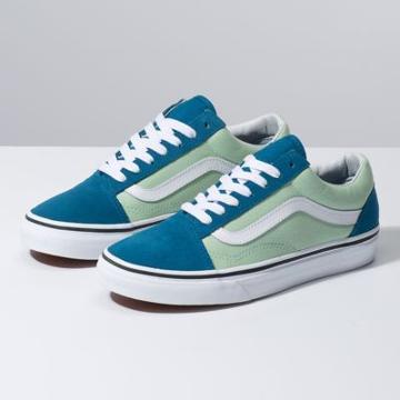 Vans 2-tone Old Skool (blue Sapphire/pastel Green)