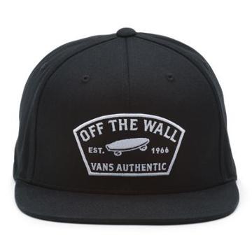 Vans Trask Snapback Hat (black)
