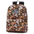 Vans Realm Backpack (demitasse Abstract Floral)
