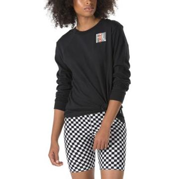Vans Legend Stamp Longsleeve Boyfriend T-shirt (black)