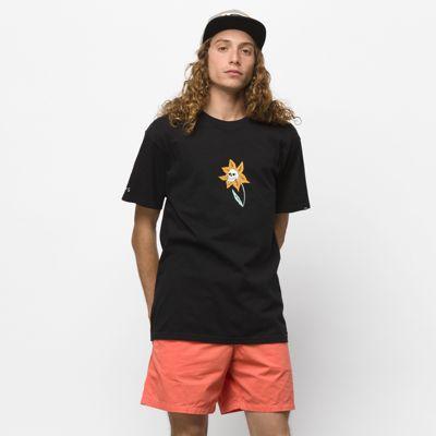 Vans Skull Flower T-shirt (black)
