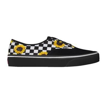 Vans Customs Sunflowers Authentic Wide (customs)