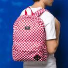 Vans Old Skool Checkerboard Backpack (red Check)