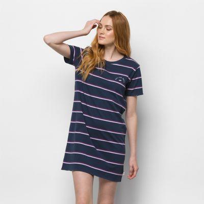 Vans Chromatic Stripe Dress (dress Blues)