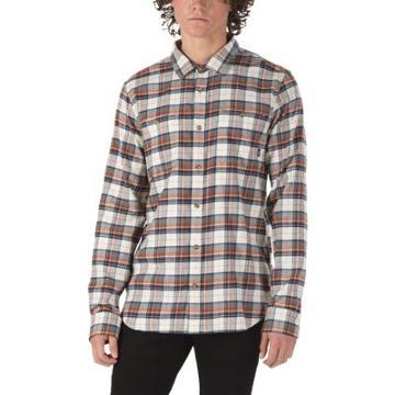 Vans Banfield Flannel Shirt (natural Sequoia)