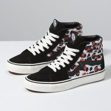 Vans Leopard Sk8-hi (black/true White)
