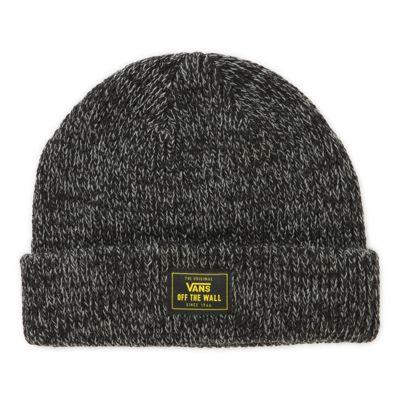 Vans Bruckner Cuff Beanie (black Heather)