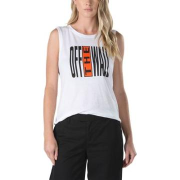 Vans Legend Stamp Muscle Tank (white)