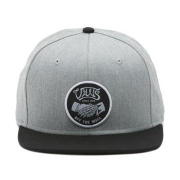Vans Rimrock Snapback Hat (heather Grey-black)