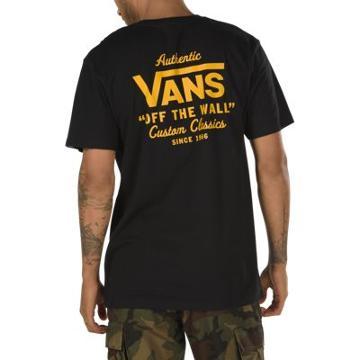 Vans Holder Street T-shirt (black/old Gold)