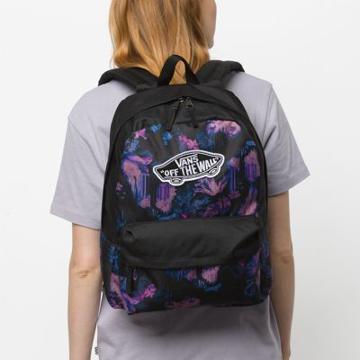 Vans Realm Solid Backpack (drip Floral)
