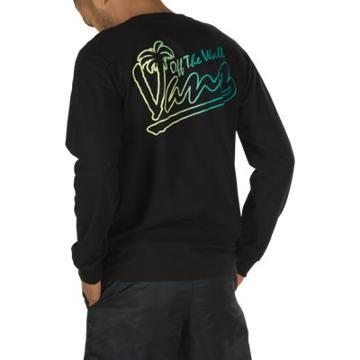 Vans Tiki Time Long Sleeve T-shirt (black)