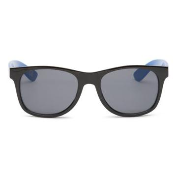 Vans Spicoli 4 Sunglasses (black Victoria Blue)