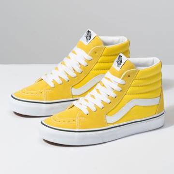 Vans Sk8-hi (vibrant Yellow/true White)