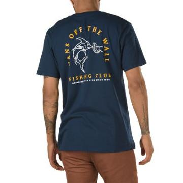 Vans Fishing Club Pocket T-shirt (dress Blues)
