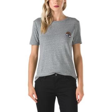 Vans Over You T-shirt (gray Heather)