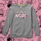 Vans X Peanuts Dance Party Crew Sweatshirt (gray Heather)
