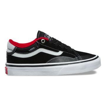 Vans Kids Tnt Advanced Prototype (black White Red)