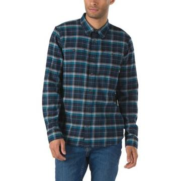 Vans Banfield Flannel Shirt (dress Blues Corsair)