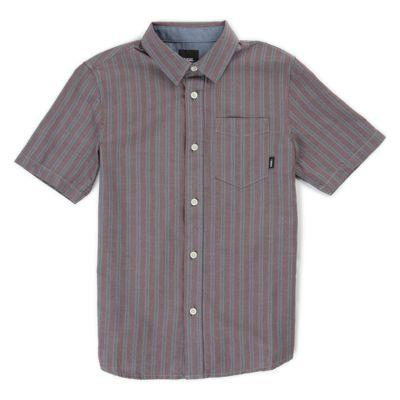 Vans Boys Houser Buttondown Shirt (port Royale Stripe)