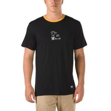 Vans X Peanuts Charlie Brown Ringer T-shirt (black)