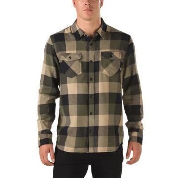 Vans Box Flannel Shirt (grape Leaf/khaki)