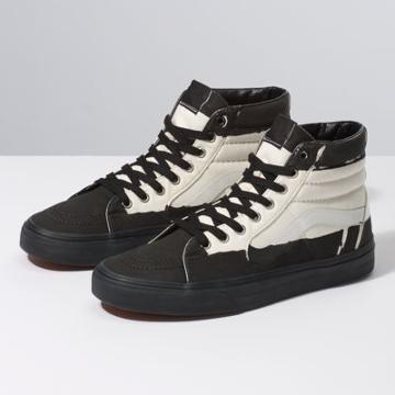 Vans Overprint Sk8-hi (black/classic White)