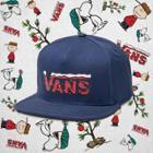 Vans X Peanuts Snapback Hat (peanuts Christmas)