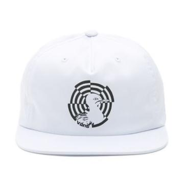 Vans X Wade Goodall Unstructured Hat (white)