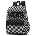 e234fd9aa1 Vans Realm Flying Backpack (black Checker Flame)