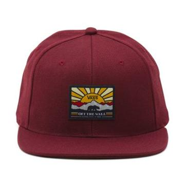 Vans Grizzly Mountain Snapback Hat (port Royale)